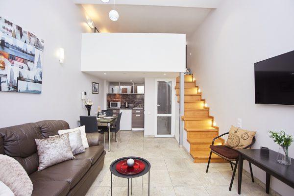 Duplex studio apartment